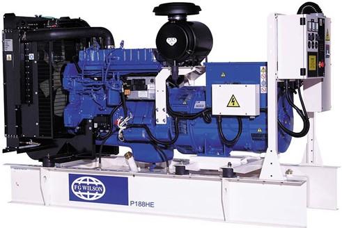 英國珀金斯1306系列(175kVA-275kVA)發電機組特性