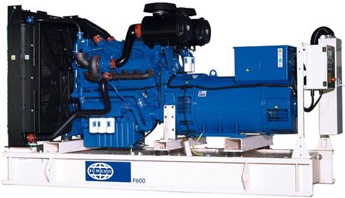 英國珀金斯2506系列(500kVA-550kVA)發電機組特性